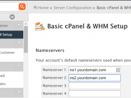 setup of name servers