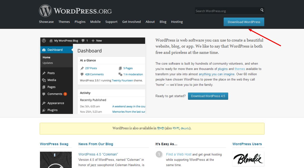 wordress download