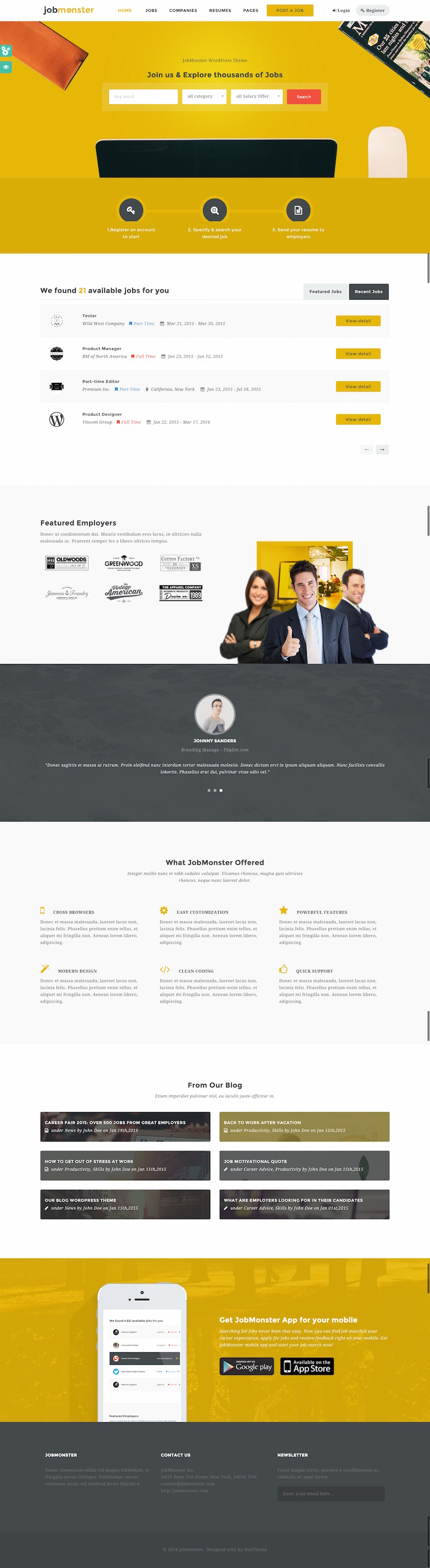 jobmonster-wordpress-theme