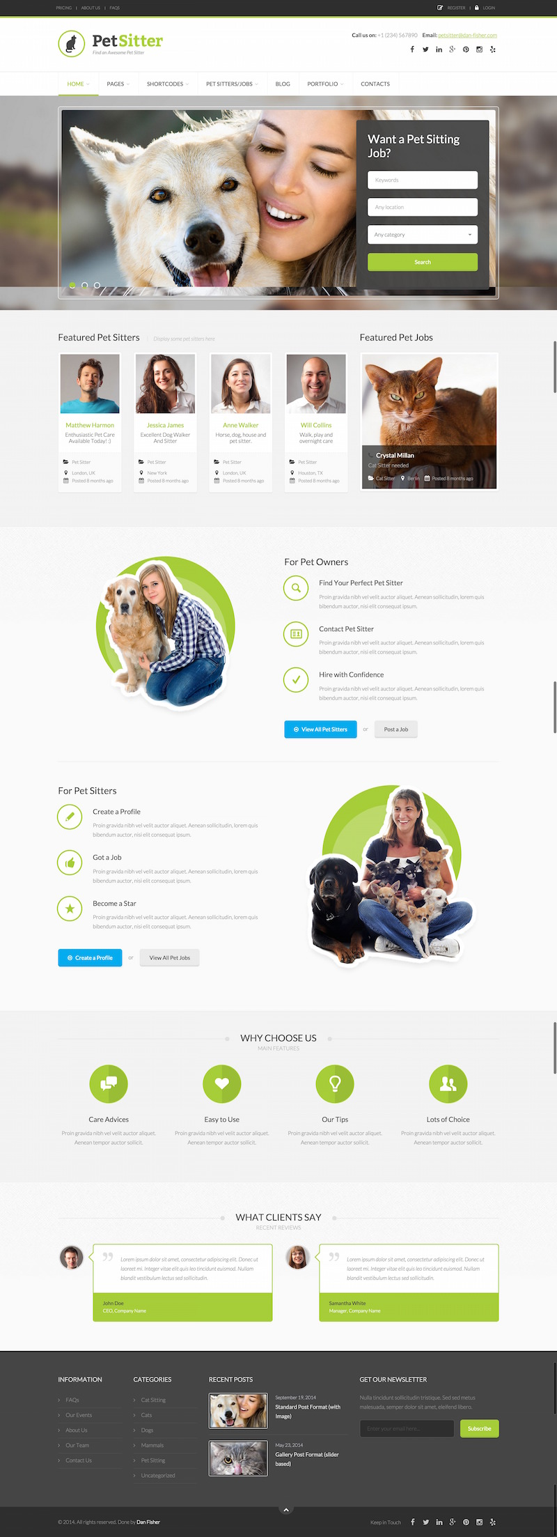 petsitter-wordpress-theme