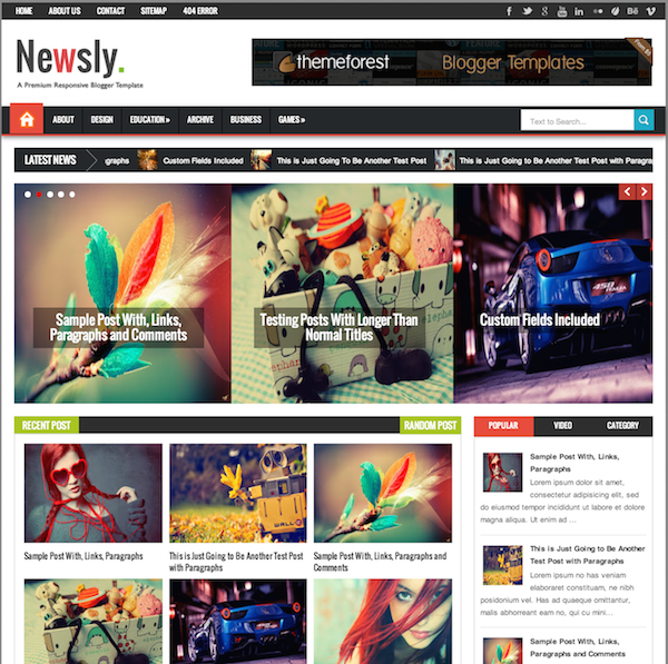 newsly-blogger-template