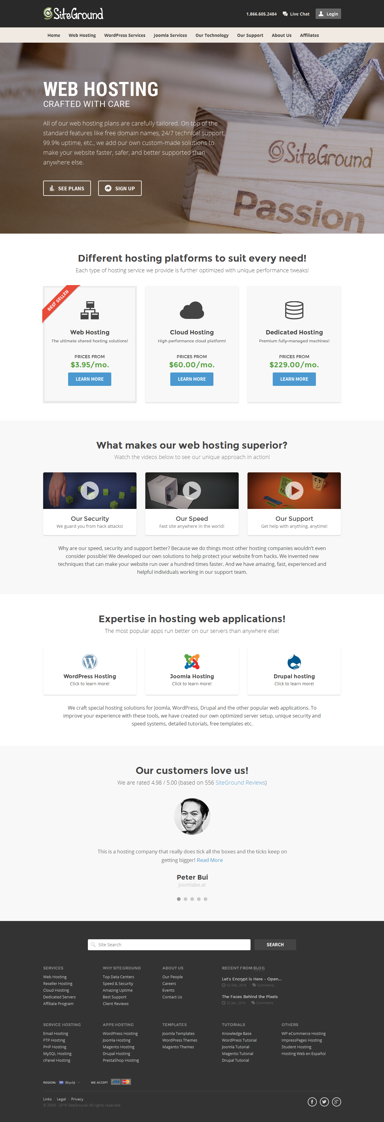 SiteGround- Quality-Crafted Hosting Services - falconhive